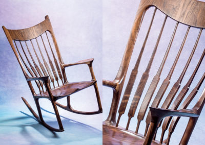 Sam Maloof-inspired Rocking Chair