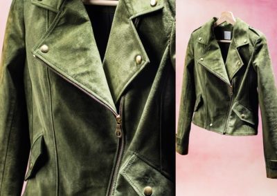 Military Motorcycle Jacket