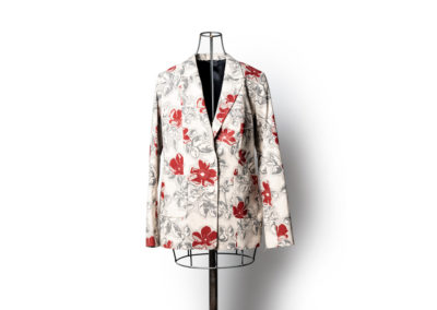 Bluff Pocket Blazer in Floralz Series: Prairie Roze